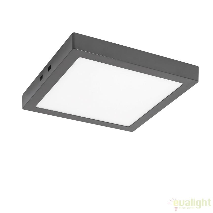 Plafoniera LED exterior IP44 OUTDOOR II antracit 30W 122053 SU, Plafoniere de exterior, Corpuri de iluminat, lustre, aplice, veioze, lampadare, plafoniere. Mobilier si decoratiuni, oglinzi, scaune, fotolii. Oferte speciale iluminat interior si exterior. Livram in toata tara.  a