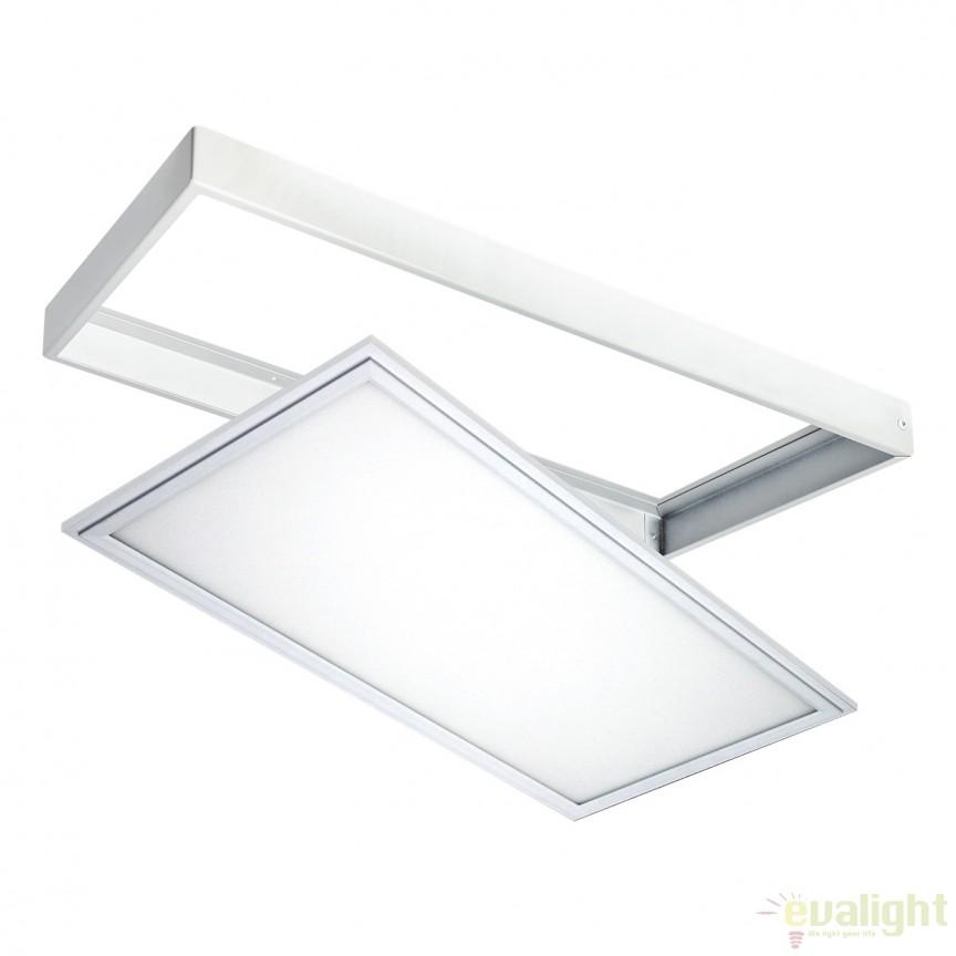 Plafoniera LED exterior IP44 OUTDOOR alba 24W 122056 SU , Plafoniere de exterior, Corpuri de iluminat, lustre, aplice, veioze, lampadare, plafoniere. Mobilier si decoratiuni, oglinzi, scaune, fotolii. Oferte speciale iluminat interior si exterior. Livram in toata tara.  a