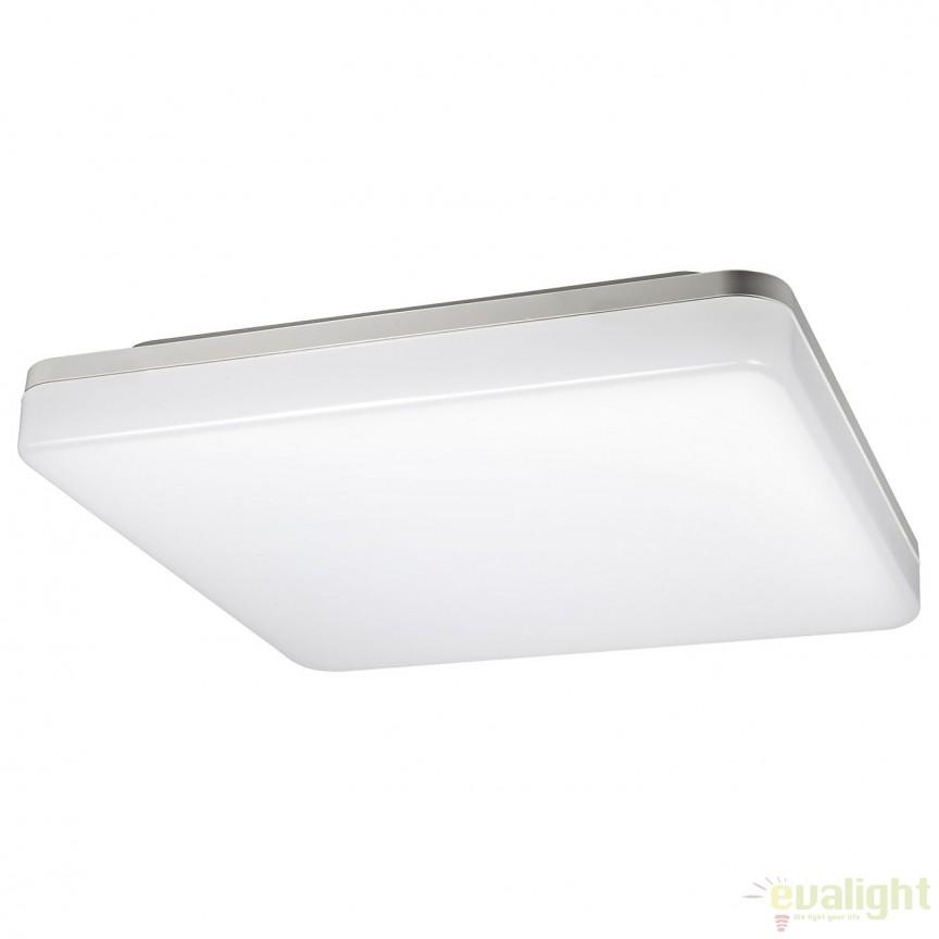 Plafoniera LED exterior IP44 CANADIAN II 100765 SU, Plafoniere de exterior, Corpuri de iluminat, lustre, aplice, veioze, lampadare, plafoniere. Mobilier si decoratiuni, oglinzi, scaune, fotolii. Oferte speciale iluminat interior si exterior. Livram in toata tara.  a
