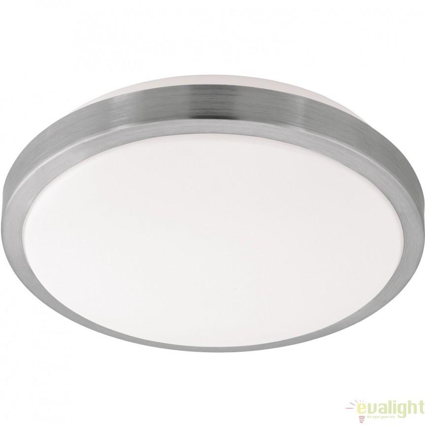 Aplica de perete, Plafoniera LED cu metal si plastic, diametru 32,5cm, COMPETA 1 96033 EL, Corpuri de iluminat LED pentru interior⭐ moderne: Lustre LED, Aplice LED, Plafoniere LED, Candelabre LED, Spoturi LED, Veioze LED, Lampadare LED.✅DeSiGn decorativ 2021!❤️Promotii lampi LED❗ Magazin online ➽ www.evalight.ro. Alege oferte la corpuri de iluminat cu LED, ieftine de calitate deosebita la cel mai bun pret. a