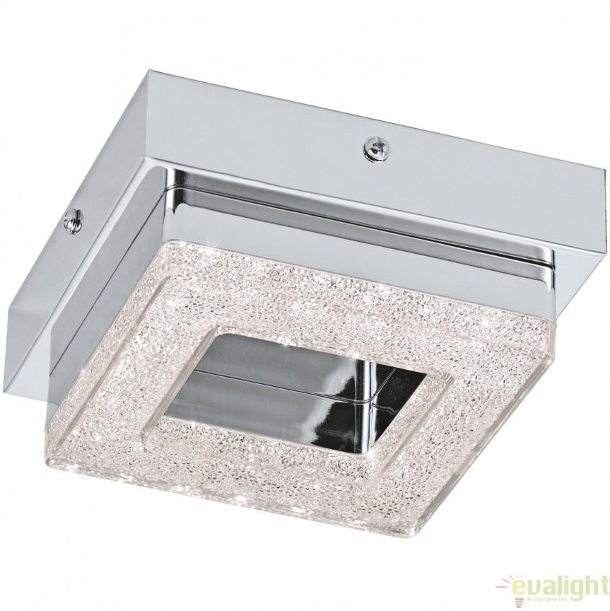 Aplica de perete, Plafoniera LED moderna, 12x12, FRADELO 95655 EL, Aplice de perete LED, Corpuri de iluminat, lustre, aplice, veioze, lampadare, plafoniere. Mobilier si decoratiuni, oglinzi, scaune, fotolii. Oferte speciale iluminat interior si exterior. Livram in toata tara.  a