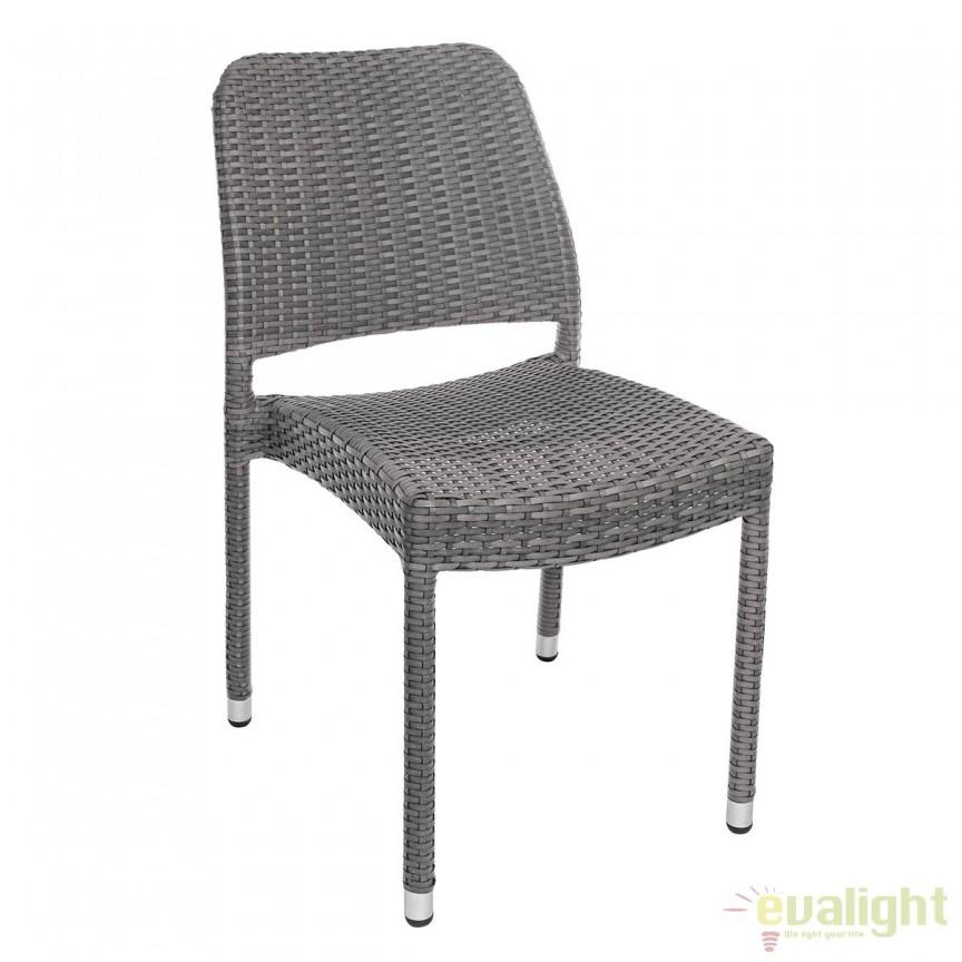 Set de 4 scaune gri ideale pentru terasa STUART 0661750 BZ, Mobilier terasa si gradina modern pentru decor exterior⭐ mobila ultra-moderna de relaxare✅ design de lux actual premium, trend 2021❗ Set-uri de mobila din ratan, lemn, poliratan, plastic, rachita, metal, fier forjat, modele vintage, rustic.❤️Promotii mobilier terasa si gradina❗ Intra si vezi modele unicat ✚ poze ✚ pret ➽ www.evalight.ro. ➽ sursa ta de inspiratie online❗ Colectii de mobilier rezistent si confortabil pentru amenajari interioare si exterioare cu design original: mese, banci, baldachine, balansoare, canapele, scaune, fotolii, masute de cafea, bar inalte, pt amenajari balcon, terase restaurant, bar, terasa, hotel, mobila showroom, intra ➽vezi oferte si reduceri cu vanzare rapida din stoc, ieftine si de calitate deosebita la cel mai bun pret. intra ➽vezi oferte si reduceri cu vanzare rapida din stoc, ieftine si de calitate deosebita la cel mai bun pret.   a
