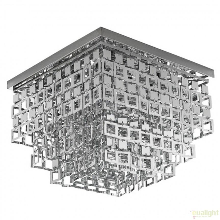 Plafoniera design modern Chic 1582 FTP, Plafoniere moderne, Corpuri de iluminat, lustre, aplice, veioze, lampadare, plafoniere. Mobilier si decoratiuni, oglinzi, scaune, fotolii. Oferte speciale iluminat interior si exterior. Livram in toata tara.  a