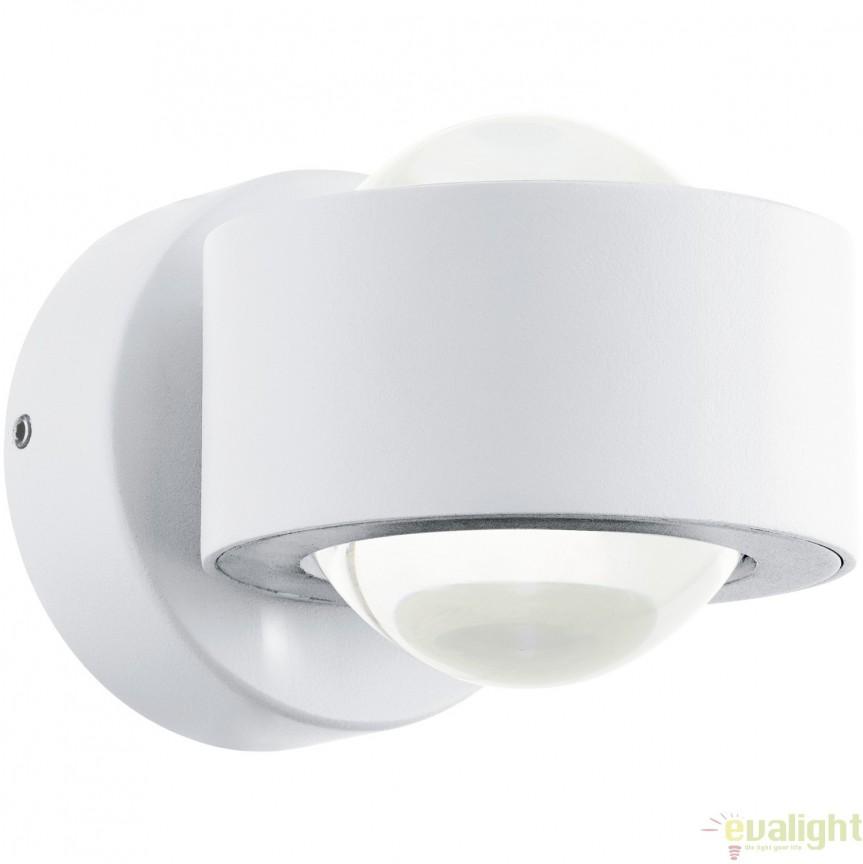 Aplica de perete moderna, lumina ambientala up&down LED, alb ONO 2 96048 EL, Corpuri de iluminat LED pentru interior⭐ moderne: Lustre LED, Aplice LED, Plafoniere LED, Candelabre LED, Spoturi LED, Veioze LED, Lampadare LED.✅DeSiGn decorativ 2021!❤️Promotii lampi LED❗ Magazin online ➽ www.evalight.ro. Alege oferte la corpuri de iluminat cu LED, ieftine de calitate deosebita la cel mai bun pret. a