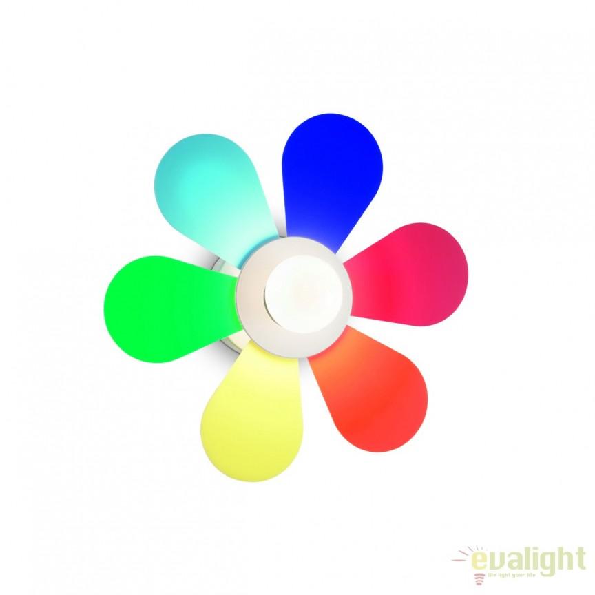 Aplica de perete pentru camera copii FLOWER AP1 D30 COLOR 141329, Corpuri de iluminat, lustre, aplice, veioze, lampadare, plafoniere. Mobilier si decoratiuni, oglinzi, scaune, fotolii. Oferte speciale iluminat interior si exterior. Livram in toata tara.