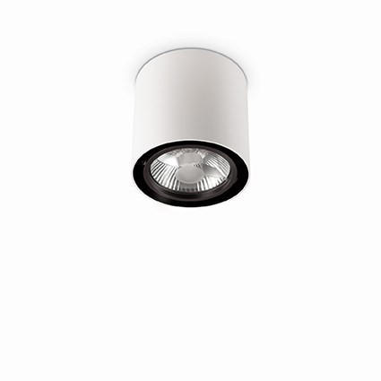 Plafoniera, Spot aplicat diametru 15cm, MOOD PL1 BIG ROUND BIANCO 140872, Spoturi incastrate, aplicate - tavan / perete, Corpuri de iluminat, lustre, aplice, veioze, lampadare, plafoniere. Mobilier si decoratiuni, oglinzi, scaune, fotolii. Oferte speciale iluminat interior si exterior. Livram in toata tara.  a