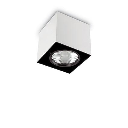 Plafoniera, Spot aplicat dim. 15x15cm, MOOD PL1 BIG SQUARE ALLUMINIO 140957, Spoturi incastrate, aplicate - tavan / perete, Corpuri de iluminat, lustre, aplice, veioze, lampadare, plafoniere. Mobilier si decoratiuni, oglinzi, scaune, fotolii. Oferte speciale iluminat interior si exterior. Livram in toata tara.  a