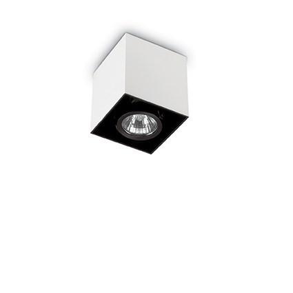 Plafoniera, Spot aplicat dim. 9x9cm, MOOD PL1 SMALL SQUARE ALLUMINIO 140926, Spoturi incastrate, aplicate - tavan / perete, Corpuri de iluminat, lustre, aplice, veioze, lampadare, plafoniere. Mobilier si decoratiuni, oglinzi, scaune, fotolii. Oferte speciale iluminat interior si exterior. Livram in toata tara.  a