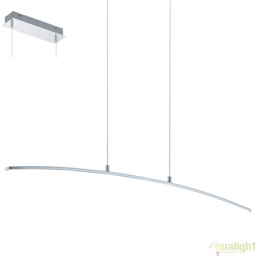 Lustra suspendata, Pendul cu iluminat LED, L-90, LASANA 32048 EL, Corpuri de iluminat LED pentru interior⭐ moderne: Lustre LED, Aplice LED, Plafoniere LED, Candelabre LED, Spoturi LED, Veioze LED, Lampadare LED.✅DeSiGn decorativ 2021!❤️Promotii lampi LED❗ Magazin online ➽ www.evalight.ro. Alege oferte la corpuri de iluminat cu LED, ieftine de calitate deosebita la cel mai bun pret. a