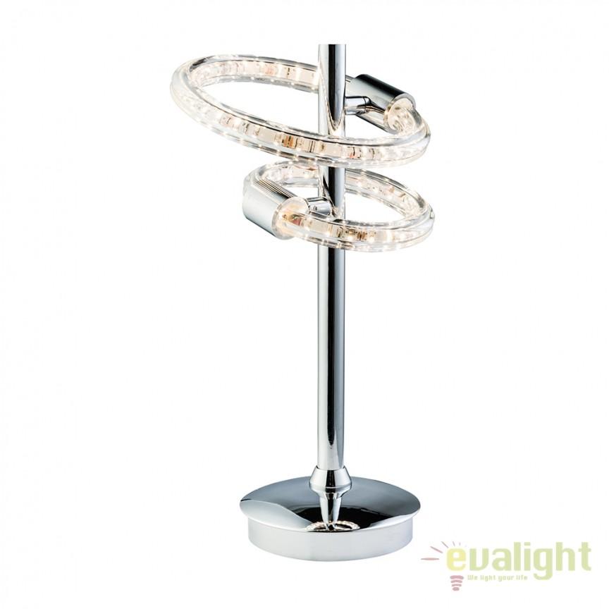 Veioza / Lampa de masa design modern NOLTE 60194 EN, Veioze LED, Lampadare LED, Corpuri de iluminat, lustre, aplice, veioze, lampadare, plafoniere. Mobilier si decoratiuni, oglinzi, scaune, fotolii. Oferte speciale iluminat interior si exterior. Livram in toata tara.  a