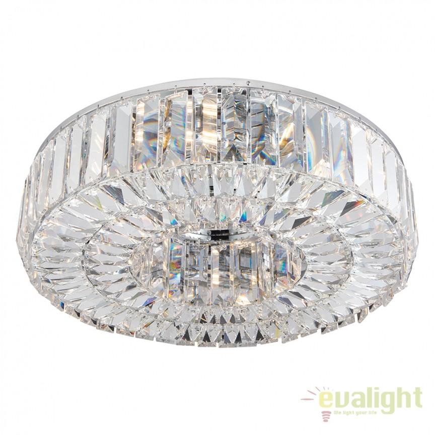 Lustra LUX Cristal Asfour Banderas 6lt 61152 EN, Lustre Cristal Asfour 30% PBO, Corpuri de iluminat, lustre, aplice, veioze, lampadare, plafoniere. Mobilier si decoratiuni, oglinzi, scaune, fotolii. Oferte speciale iluminat interior si exterior. Livram in toata tara.  a