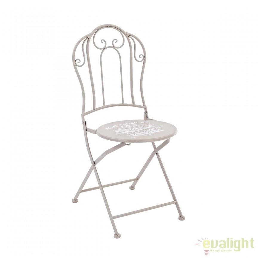 Set 2 scaune de exterior design modern PICK UP 5802301 BZ, Mobilier terasa si gradina, Corpuri de iluminat, lustre, aplice, veioze, lampadare, plafoniere. Mobilier si decoratiuni, oglinzi, scaune, fotolii. Oferte speciale iluminat interior si exterior. Livram in toata tara.  a