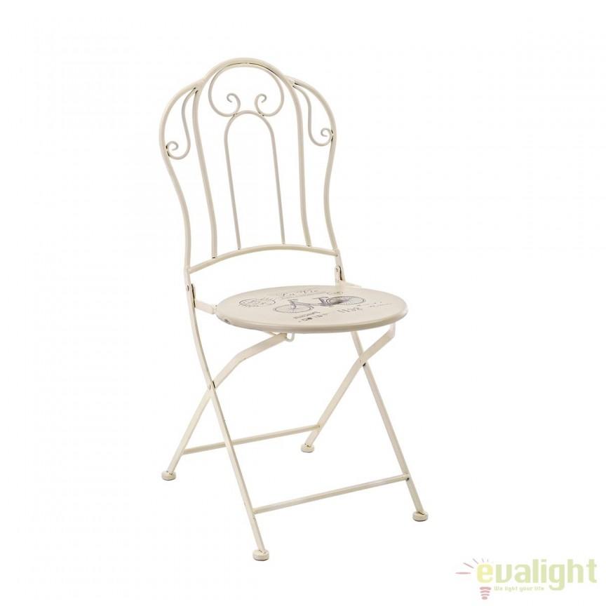 Set 2 scaune de exterior design modern BIKE 5802303 BZ, Mobilier terasa si gradina, Corpuri de iluminat, lustre, aplice, veioze, lampadare, plafoniere. Mobilier si decoratiuni, oglinzi, scaune, fotolii. Oferte speciale iluminat interior si exterior. Livram in toata tara.  a