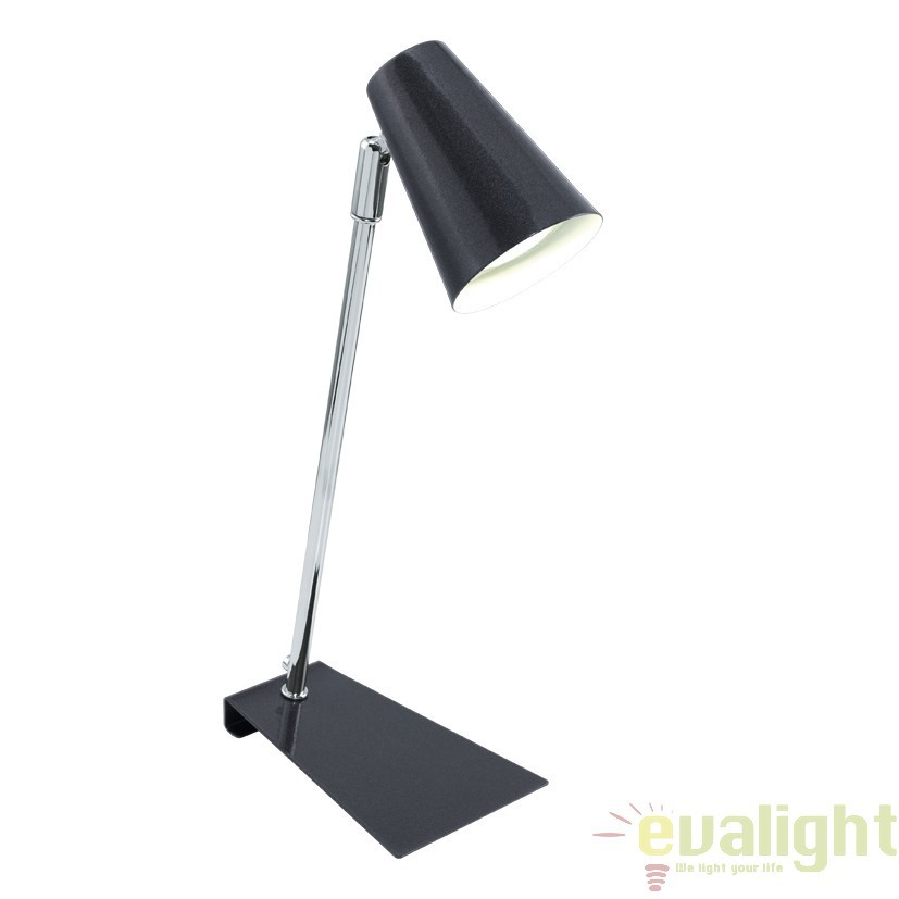 Veioza, Lampa de masa moderna GU10-LED finisaj antracit, TRAVALE 92862 EL, Veioze LED, Lampadare LED, Corpuri de iluminat, lustre, aplice, veioze, lampadare, plafoniere. Mobilier si decoratiuni, oglinzi, scaune, fotolii. Oferte speciale iluminat interior si exterior. Livram in toata tara.  a