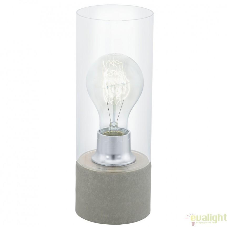 Veioza, Lampa de masa moderna, diametru 10cm, TORVISCO 1 94549, Magazin,  a