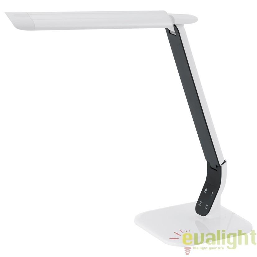Veioza, lampa de masa cu touch dimmer LED, SELLANO 93901 EL, Veioze LED, Lampadare LED, Corpuri de iluminat, lustre, aplice, veioze, lampadare, plafoniere. Mobilier si decoratiuni, oglinzi, scaune, fotolii. Oferte speciale iluminat interior si exterior. Livram in toata tara.  a