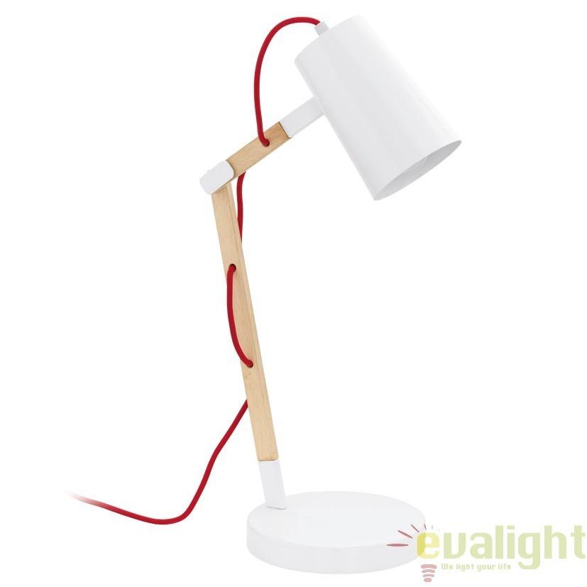 Veioza, Lampa de masa moderna din lemn, TORONA 94033 EL, Veioze, Lampi de masa, Corpuri de iluminat, lustre, aplice, veioze, lampadare, plafoniere. Mobilier si decoratiuni, oglinzi, scaune, fotolii. Oferte speciale iluminat interior si exterior. Livram in toata tara.  a