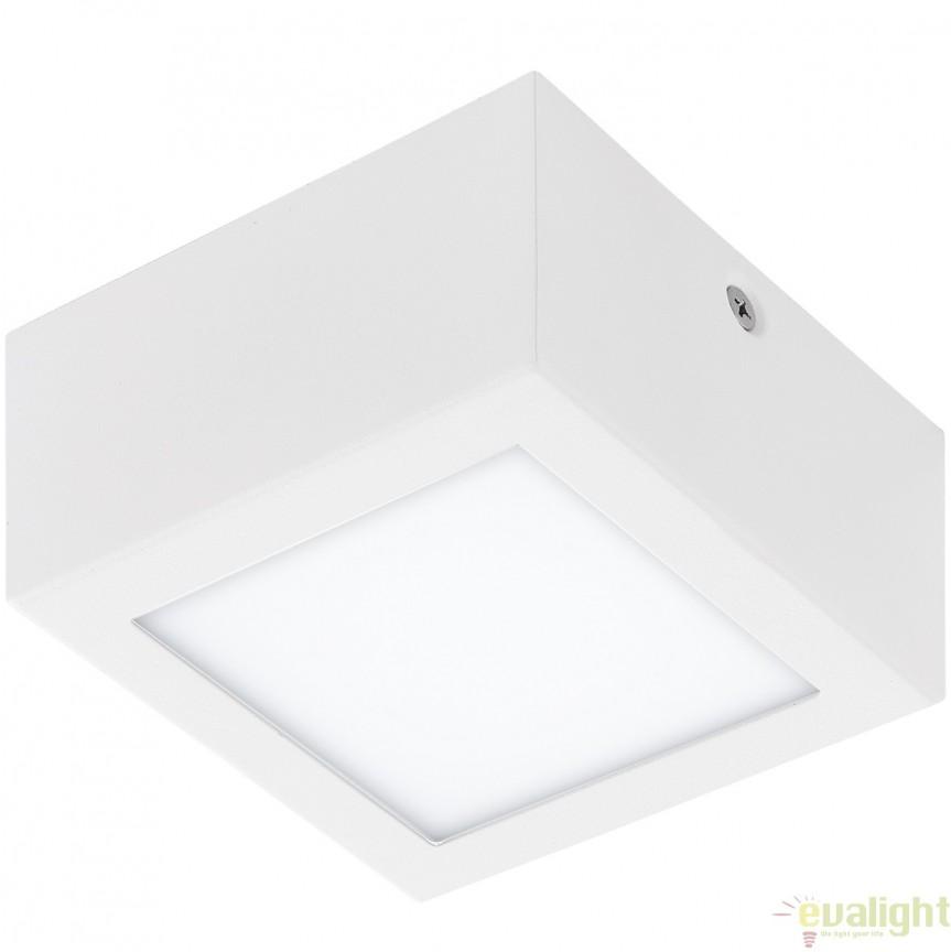Plafoniera, Spot LED, finsaj alb, 11,5x11,5cm, COLEGIO 95199 EL, Plafoniere LED, Spoturi LED, Corpuri de iluminat, lustre, aplice, veioze, lampadare, plafoniere. Mobilier si decoratiuni, oglinzi, scaune, fotolii. Oferte speciale iluminat interior si exterior. Livram in toata tara.  a