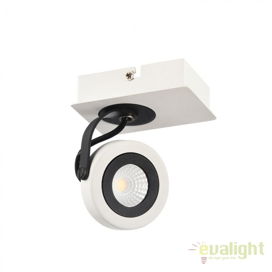 Plafoniera cu 1 Spot LED Magnetar 1 MYECO161-01-W, Plafoniere LED, Spoturi LED, Corpuri de iluminat, lustre, aplice, veioze, lampadare, plafoniere. Mobilier si decoratiuni, oglinzi, scaune, fotolii. Oferte speciale iluminat interior si exterior. Livram in toata tara.  a