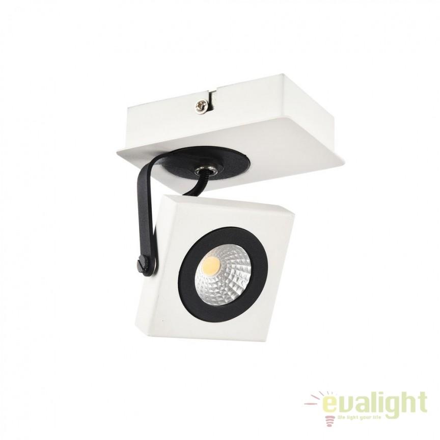 Plafoniera cu 1 Spot LED Magnetar 2 MYECO162-01-W, Plafoniere LED, Spoturi LED, Corpuri de iluminat, lustre, aplice, veioze, lampadare, plafoniere. Mobilier si decoratiuni, oglinzi, scaune, fotolii. Oferte speciale iluminat interior si exterior. Livram in toata tara.  a