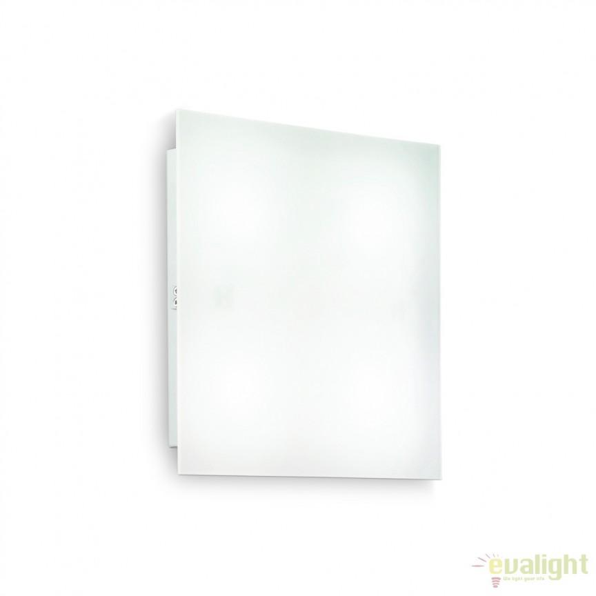 Aplica perete sau tavan design modern, FLAT PL4 D40 134901, Plafoniere moderne, Corpuri de iluminat, lustre, aplice, veioze, lampadare, plafoniere. Mobilier si decoratiuni, oglinzi, scaune, fotolii. Oferte speciale iluminat interior si exterior. Livram in toata tara.  a
