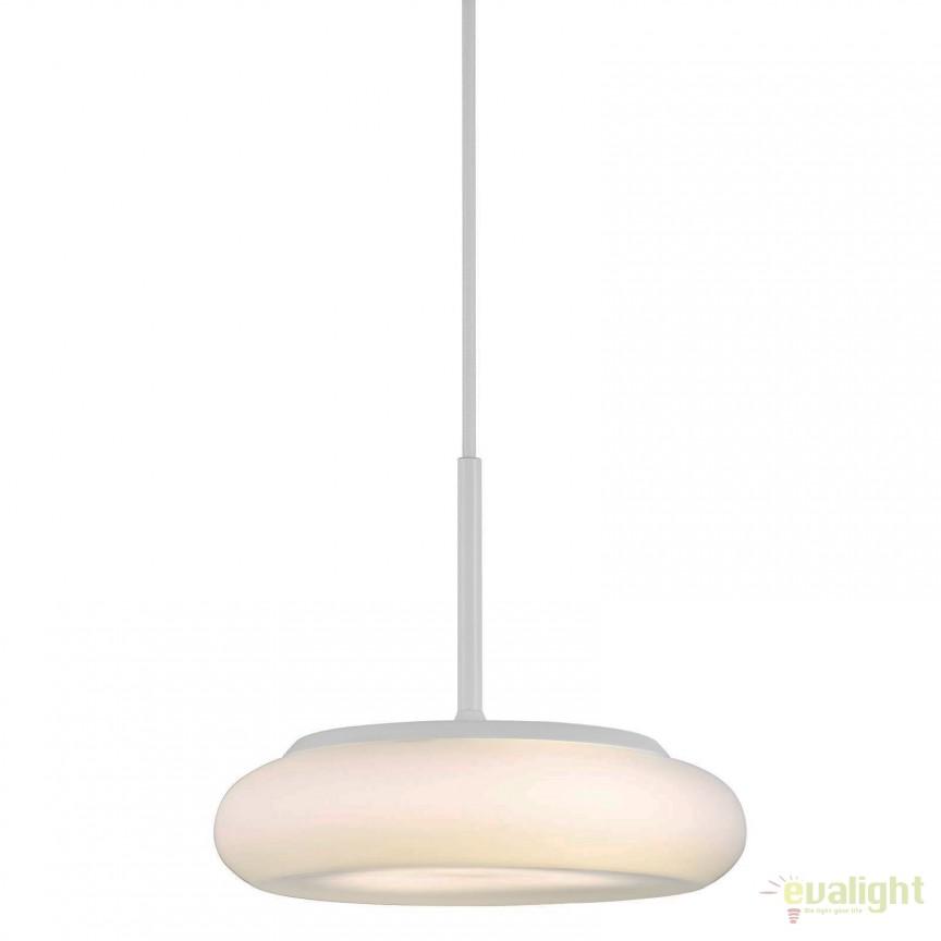 Pendul LED design modern diam. 25cm CIAMBO 45203001 DFTP, ILUMINAT INTERIOR LED , Corpuri de iluminat, lustre, aplice, veioze, lampadare, plafoniere. Mobilier si decoratiuni, oglinzi, scaune, fotolii. Oferte speciale iluminat interior si exterior. Livram in toata tara.  a