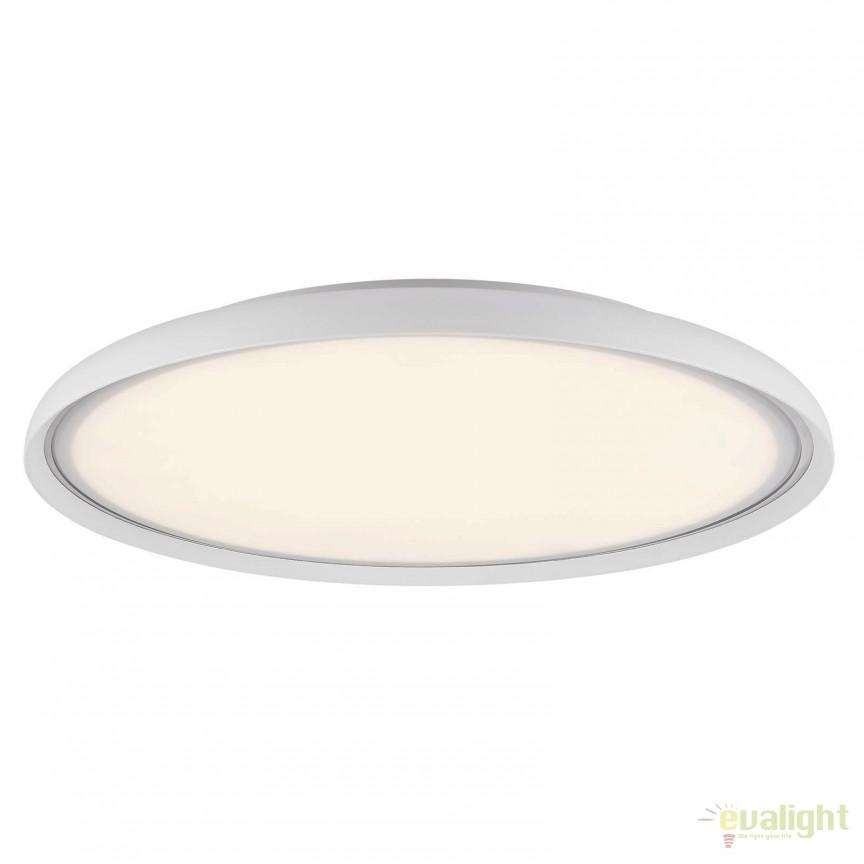 Plafoniera LED design modern diam. 40cm LA LUNA 45306001 DFTP, ILUMINAT INTERIOR LED , Corpuri de iluminat, lustre, aplice, veioze, lampadare, plafoniere. Mobilier si decoratiuni, oglinzi, scaune, fotolii. Oferte speciale iluminat interior si exterior. Livram in toata tara.  a