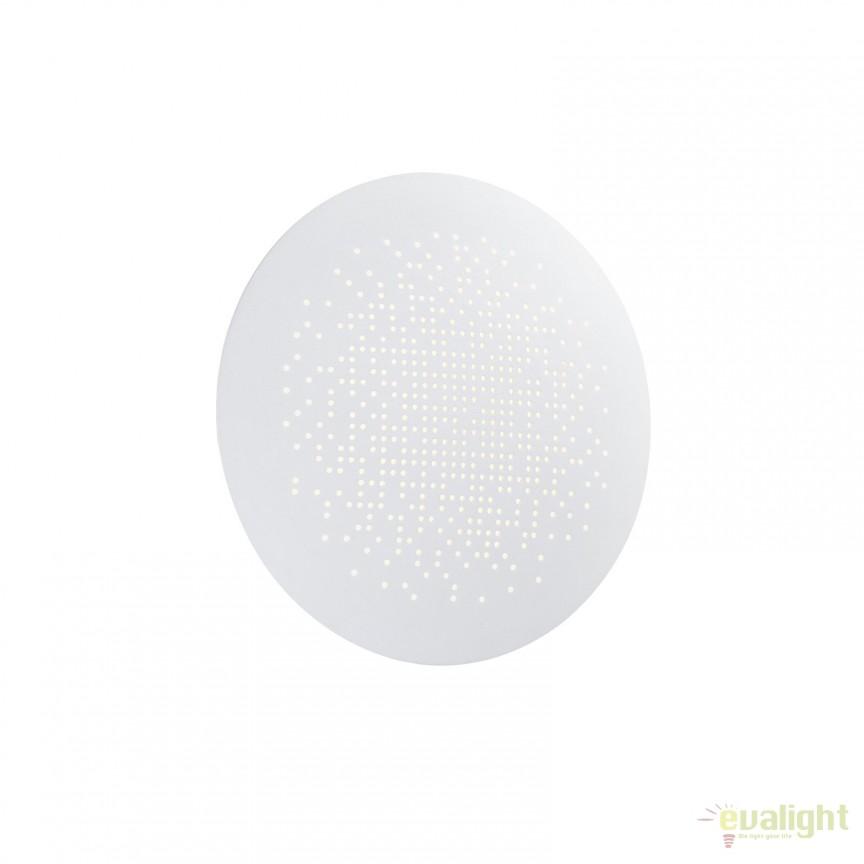 Aplica de perete LED ambientala diam. 19cm HUNT alba 45451001 NL, Aplice de perete LED, Corpuri de iluminat, lustre, aplice, veioze, lampadare, plafoniere. Mobilier si decoratiuni, oglinzi, scaune, fotolii. Oferte speciale iluminat interior si exterior. Livram in toata tara.  a