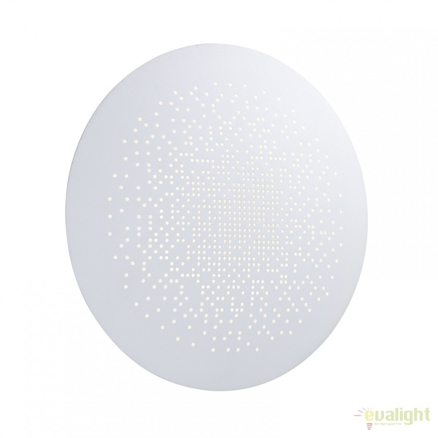Aplica de perete LED ambientala diam. 26cm HUNT alba 45461001 DFTP, Aplice de perete LED, Corpuri de iluminat, lustre, aplice, veioze, lampadare, plafoniere. Mobilier si decoratiuni, oglinzi, scaune, fotolii. Oferte speciale iluminat interior si exterior. Livram in toata tara.  a