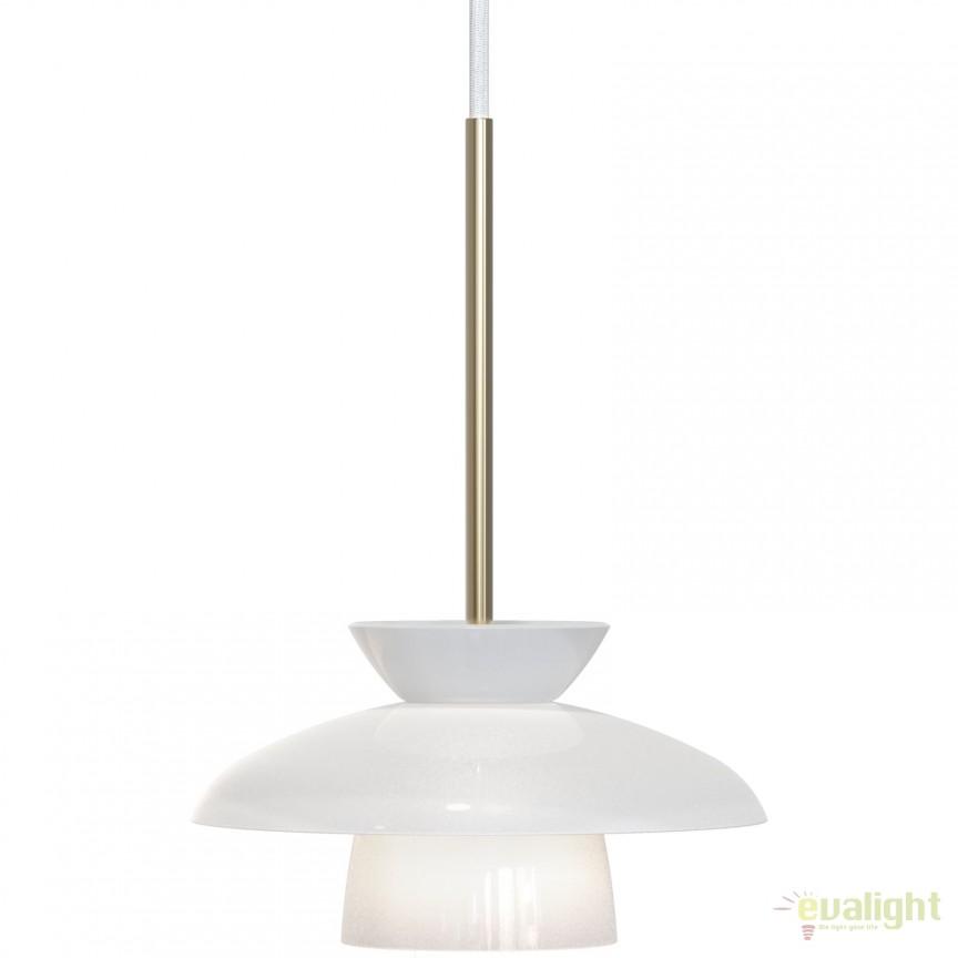 Pendul LED design modern, diam.21cm GLOSS 83033001 DFTP, ILUMINAT INTERIOR LED , Corpuri de iluminat, lustre, aplice, veioze, lampadare, plafoniere. Mobilier si decoratiuni, oglinzi, scaune, fotolii. Oferte speciale iluminat interior si exterior. Livram in toata tara.  a