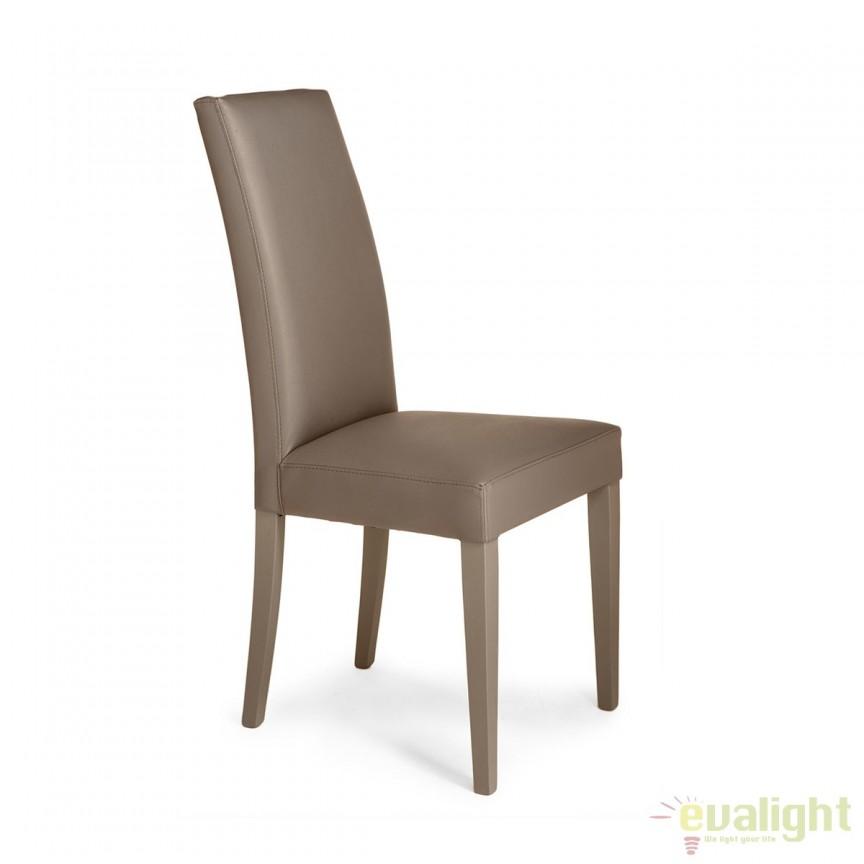 Set de 2 scaune elegante cu tapiterie din piele sintetica JENNY SANDY 2721 FTP, MOBILA SI DECORATIUNI , Corpuri de iluminat, lustre, aplice, veioze, lampadare, plafoniere. Mobilier si decoratiuni, oglinzi, scaune, fotolii. Oferte speciale iluminat interior si exterior. Livram in toata tara.  a