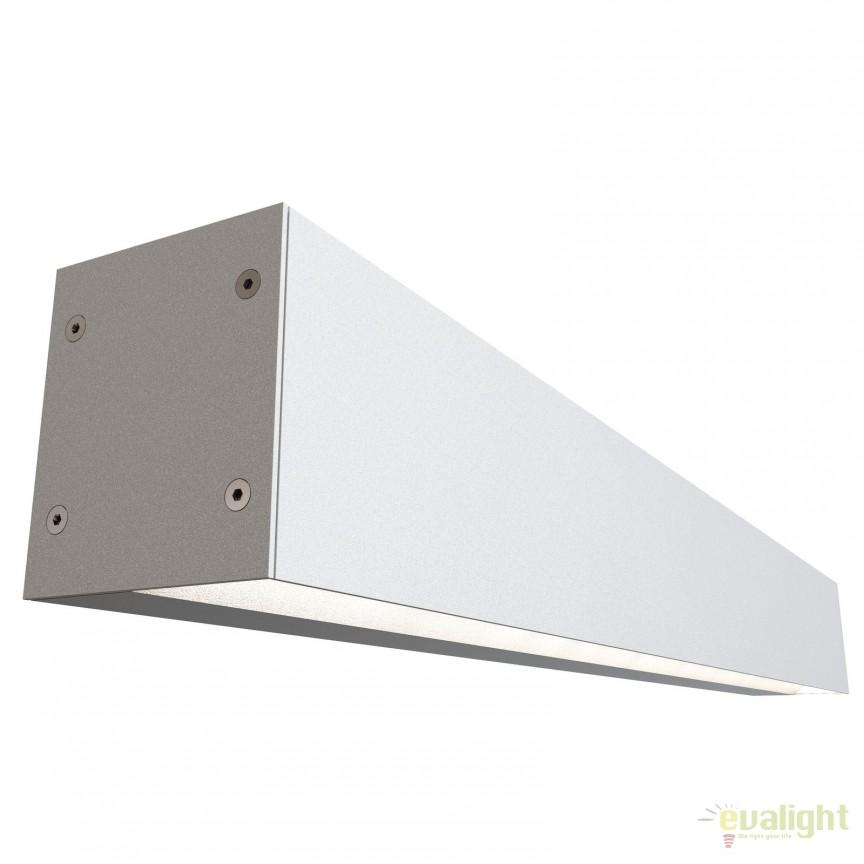 Aplica de perete LED baie IP44 cu iluminat up-and-down IP S16 alba 84531001 DFTP, Aplice pentru baie, oglinda, tablou, Corpuri de iluminat, lustre, aplice, veioze, lampadare, plafoniere. Mobilier si decoratiuni, oglinzi, scaune, fotolii. Oferte speciale iluminat interior si exterior. Livram in toata tara.  a