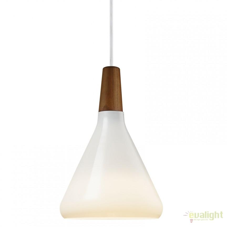 Pendul design vintage diametru 18cm Float glass 78203001 DFTP, Cele mai noi produse 2017 a