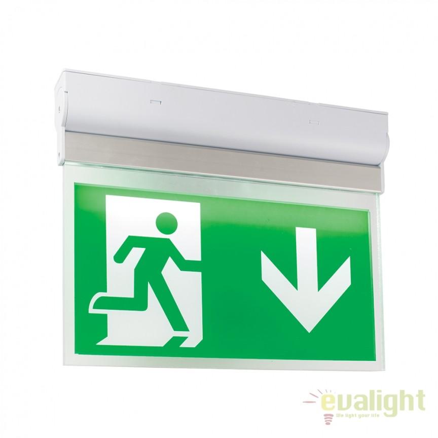 Aplica LED cu semn informare NOVA 54544 EN, Aplice de perete moderne, Corpuri de iluminat, lustre, aplice, veioze, lampadare, plafoniere. Mobilier si decoratiuni, oglinzi, scaune, fotolii. Oferte speciale iluminat interior si exterior. Livram in toata tara.  a