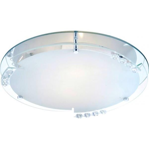 Plafonier cu cristale acrylice diam. 32cm Armena 48073-2 GL, Plafoniere moderne, Corpuri de iluminat, lustre, aplice a
