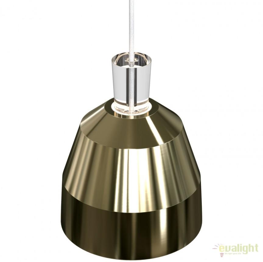 Pendul design modern diametru 22,5cm SHAPE III alama 83203035 DFTP, Pendule, Lustre suspendate, Corpuri de iluminat, lustre, aplice, veioze, lampadare, plafoniere. Mobilier si decoratiuni, oglinzi, scaune, fotolii. Oferte speciale iluminat interior si exterior. Livram in toata tara.  a