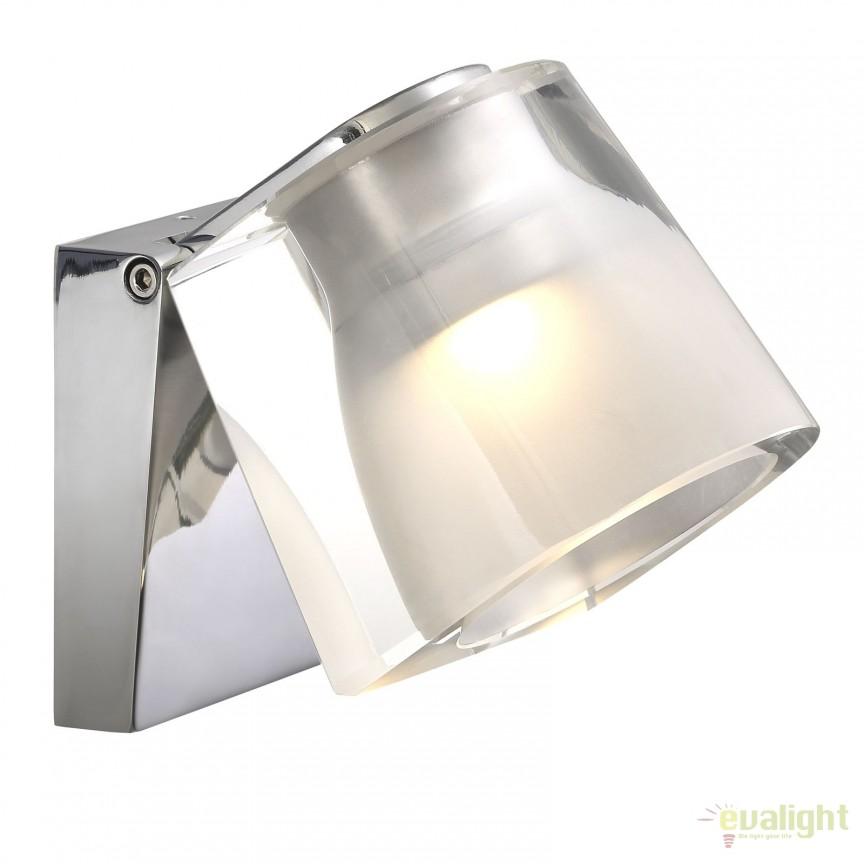 Aplica LED de perete pentru baie IP44 IP S12 crom 83051033 DFTP, Aplice pentru baie, oglinda, tablou, Corpuri de iluminat, lustre, aplice, veioze, lampadare, plafoniere. Mobilier si decoratiuni, oglinzi, scaune, fotolii. Oferte speciale iluminat interior si exterior. Livram in toata tara.  a