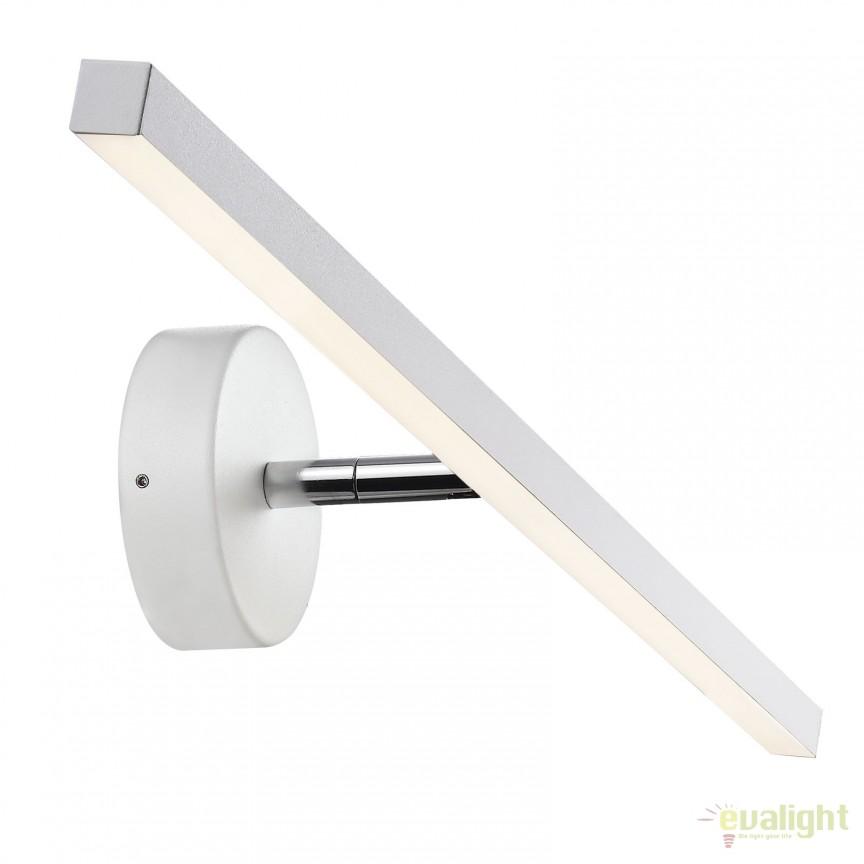 Aplica LED de perete pentru baie IP44 IP S13 60CM alba 83071001 DFTP, Aplice pentru baie, oglinda, tablou, Corpuri de iluminat, lustre, aplice, veioze, lampadare, plafoniere. Mobilier si decoratiuni, oglinzi, scaune, fotolii. Oferte speciale iluminat interior si exterior. Livram in toata tara.  a