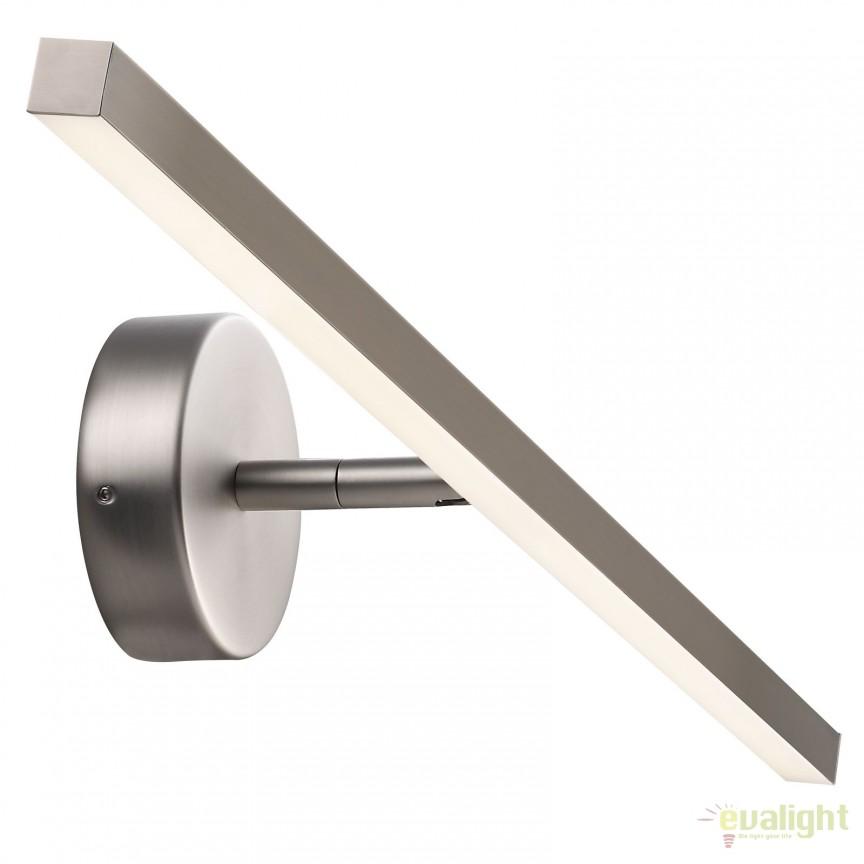 Aplica LED de perete pentru baie IP44 IP S13 60CM otel 83071032 DFTP, Aplice pentru baie, oglinda, tablou, Corpuri de iluminat, lustre, aplice, veioze, lampadare, plafoniere. Mobilier si decoratiuni, oglinzi, scaune, fotolii. Oferte speciale iluminat interior si exterior. Livram in toata tara.  a
