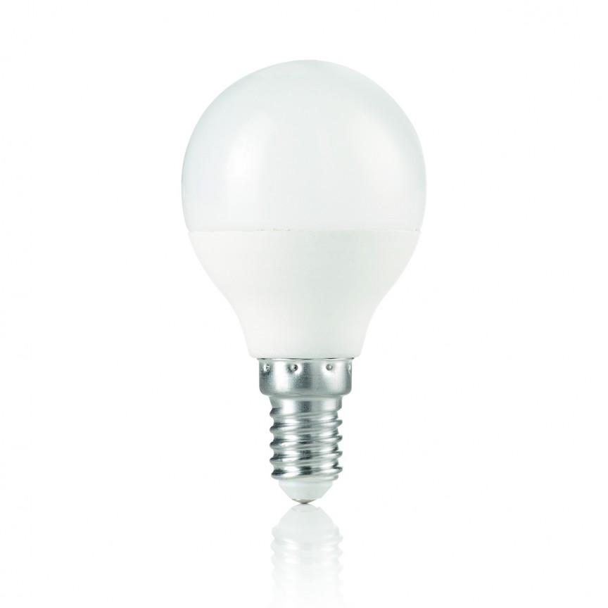 Bec LED E14 Sfera 7W, 3000 K 151731, Becuri E14, Corpuri de iluminat, lustre, aplice, veioze, lampadare, plafoniere. Mobilier si decoratiuni, oglinzi, scaune, fotolii. Oferte speciale iluminat interior si exterior. Livram in toata tara.  a