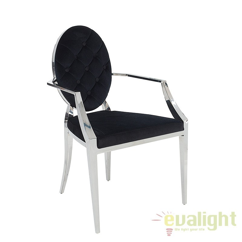 Set de 2 scaune cu brate Modern Barock A-37355 VC, Outlet,  a