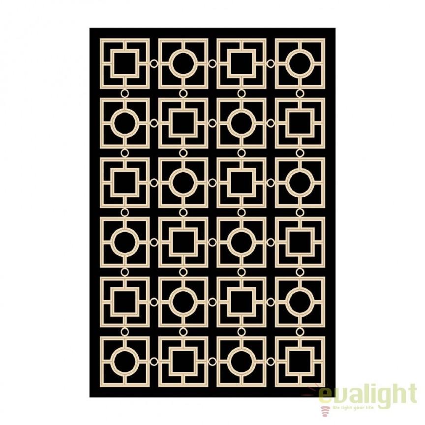 Covor elegant design LUX, realizat manual Evans 200x300cm 109767 HZ, Covoare design decorativ modern pentru interior, exterior , Corpuri de iluminat, lustre, aplice, veioze, lampadare, plafoniere. Mobilier si decoratiuni, oglinzi, scaune, fotolii. Oferte speciale iluminat interior si exterior. Livram in toata tara.  a