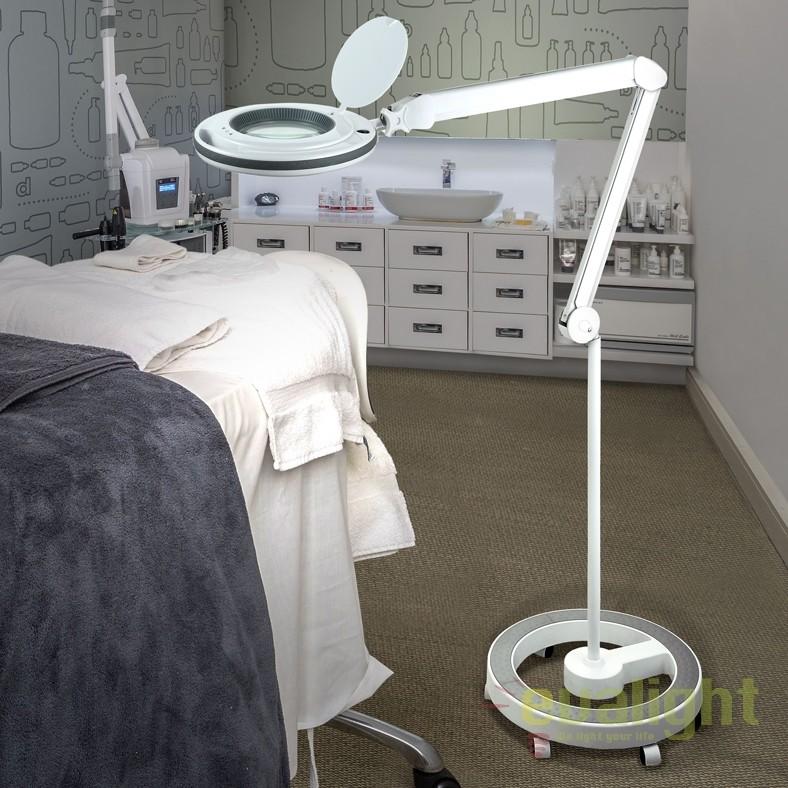 Lampa LED ideala pentru salon cosmetica, cu brat articulat Lupa SV-249152, Veioze LED, Lampadare LED, Corpuri de iluminat, lustre, aplice, veioze, lampadare, plafoniere. Mobilier si decoratiuni, oglinzi, scaune, fotolii. Oferte speciale iluminat interior si exterior. Livram in toata tara.  a