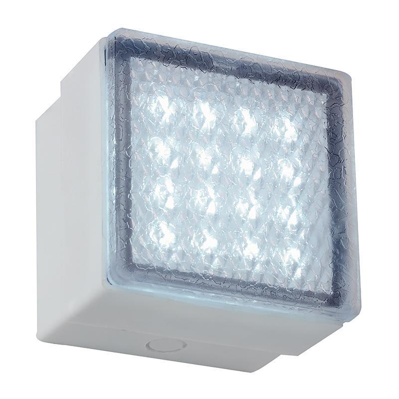 Aplica de perete exterior, dim.9,9x9,9cm, IP67, LED alb EL-40041-WH EN,  a