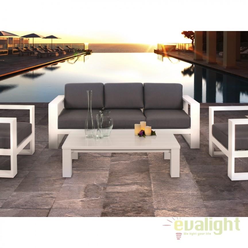 Canapea de exterior design deosebit Java SV-285318, Mobilier terasa si gradina, Corpuri de iluminat, lustre, aplice, veioze, lampadare, plafoniere. Mobilier si decoratiuni, oglinzi, scaune, fotolii. Oferte speciale iluminat interior si exterior. Livram in toata tara.  a