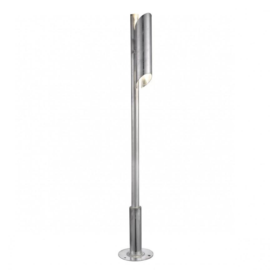 Stalp pentru iluminat exterior, H 100cm IP44 PIN 78808031, Outlet,  a