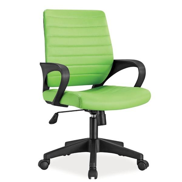 Scaun de birou pivotant Q-051 verde OBRQ051ZI SM, Scaune de birou, Corpuri de iluminat, lustre, aplice, veioze, lampadare, plafoniere. Mobilier si decoratiuni, oglinzi, scaune, fotolii. Oferte speciale iluminat interior si exterior. Livram in toata tara.  a