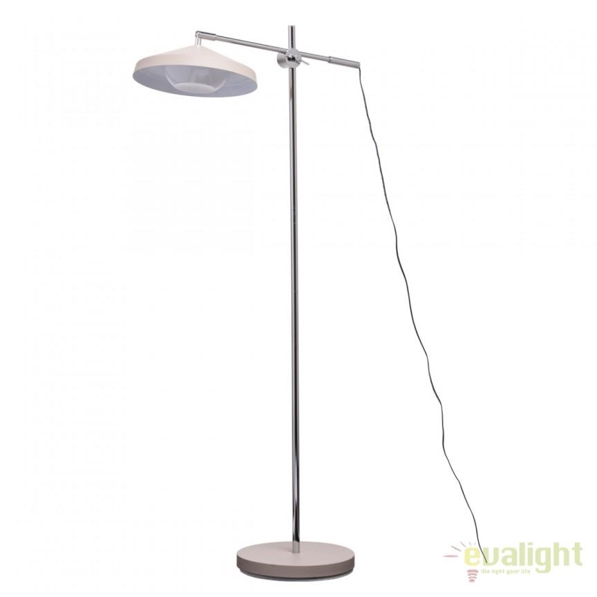 Lampadar / Lampa de podea cu brat reglabil Rondy 636041801 MW, Veioze LED, Lampadare LED, Corpuri de iluminat, lustre, aplice, veioze, lampadare, plafoniere. Mobilier si decoratiuni, oglinzi, scaune, fotolii. Oferte speciale iluminat interior si exterior. Livram in toata tara.  a