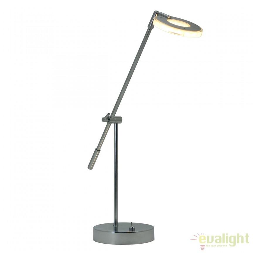 Lampa de birou LED design modern AGO 3060 FTP, Veioze LED, Lampadare LED, Corpuri de iluminat, lustre, aplice, veioze, lampadare, plafoniere. Mobilier si decoratiuni, oglinzi, scaune, fotolii. Oferte speciale iluminat interior si exterior. Livram in toata tara.  a