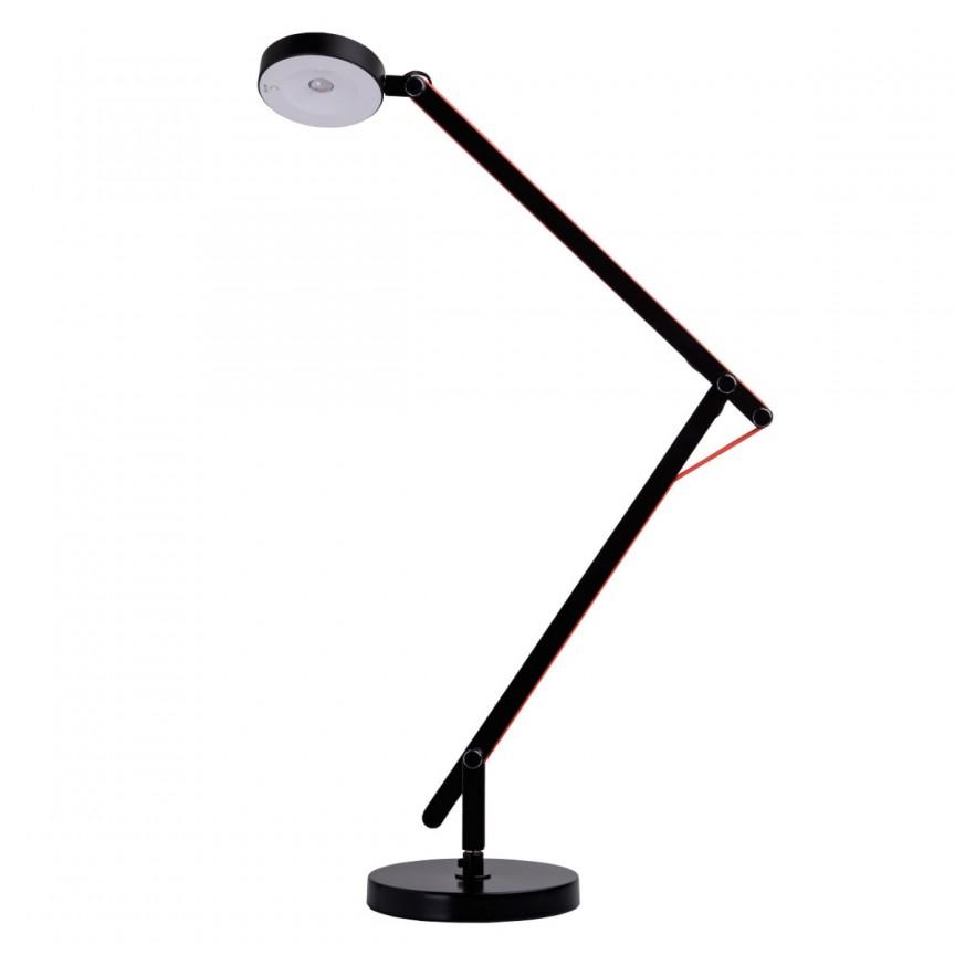 Lampa LED de birou reglabila design modern Dalya 631034101 MW, Veioze LED, Lampadare LED, Corpuri de iluminat, lustre, aplice, veioze, lampadare, plafoniere. Mobilier si decoratiuni, oglinzi, scaune, fotolii. Oferte speciale iluminat interior si exterior. Livram in toata tara.  a
